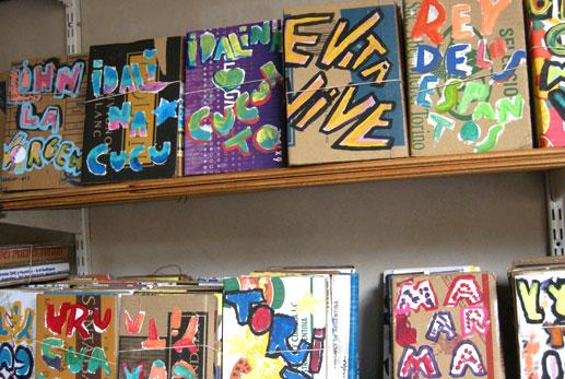 Fotos sacadas en la sede de Eloísa Cartonera, la Boca (por Chava).