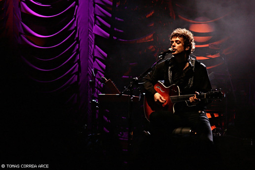 Gustavo Cerati, Montevideo, 2009.