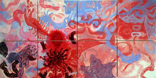 Swab 2011 - Galería Arte cocodrilo - Muerte florida