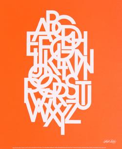 Alfabeto Avant Garde Gothic, 1979