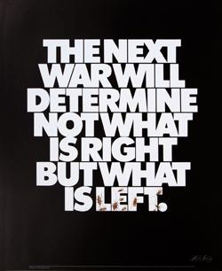 Survivor, afiche antibélico, 1972