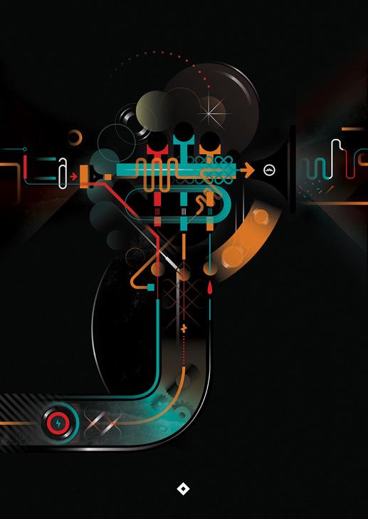Afiche Música