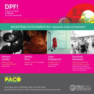 Festival de Fotografía DPF!