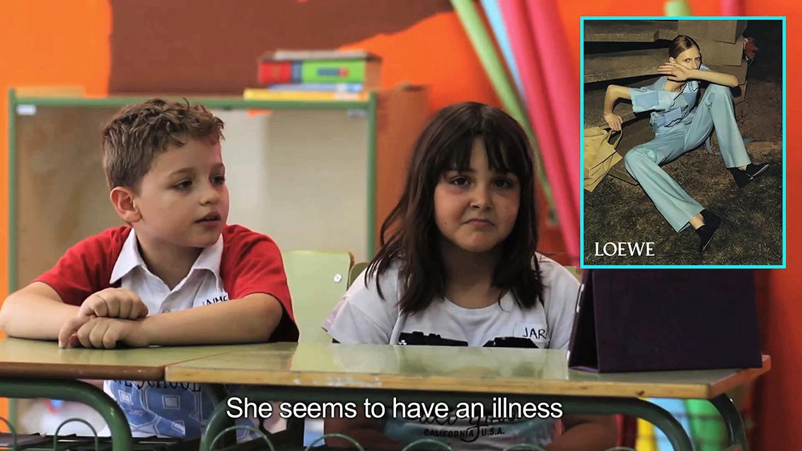 Entrevista a alumnos de 8 años ©Yolanda Dominguez