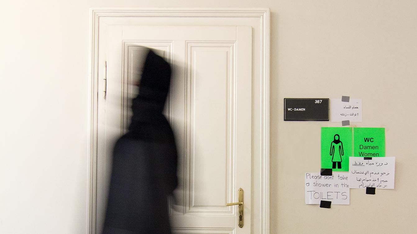 Ícono a partir del código de vestimenta islámico ©BueroBauer
