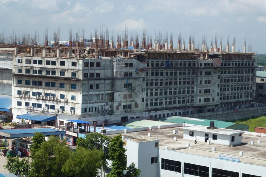 Fábrica textil en Bangladesh ©Arup
